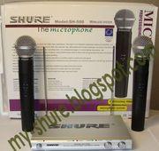 Продам радиосистему Shure SH-500 с 2 радиомикрофонами
