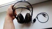 SteelSeries Siberia v2 Full-Size Gaming Headset (Black and Gold)